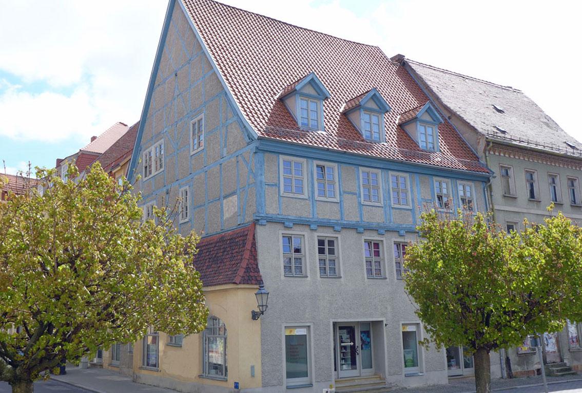 Dachgeschosswohnung im Fachwerk zur Miete