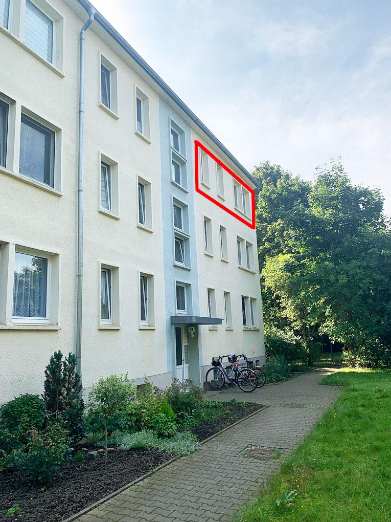 Solide 3 Raumwohnung in Gatersleben zur Miete