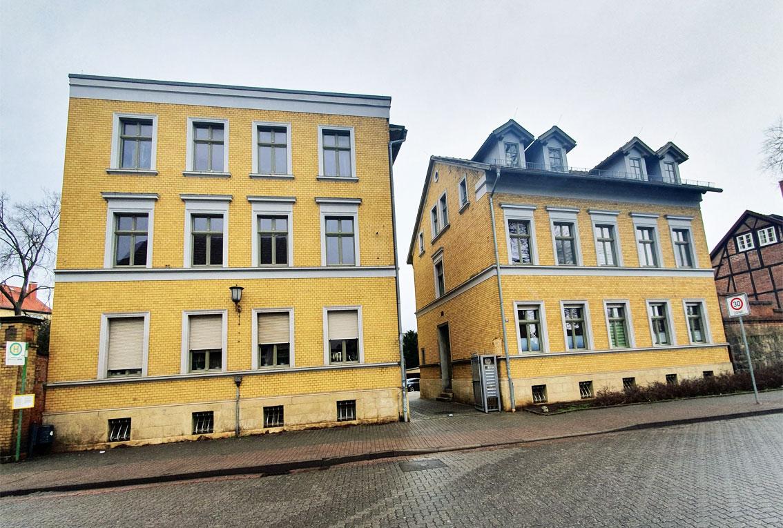 2-Zimmer Wohnquartier im denkmalgeschützten Mehrfamilienhaus